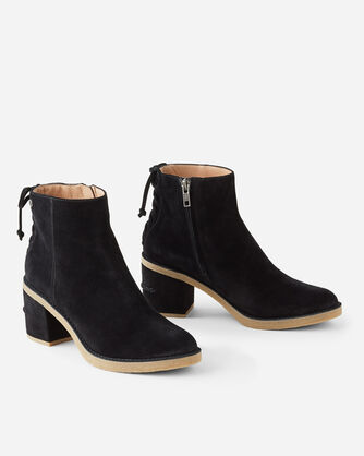 CORINNE LACE-BACK BOOTS