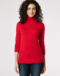 TIMELESS TURTLENECK, TANGO RED, large