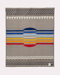 RETURN OF THE SUN BLANKET, TAUPE, large