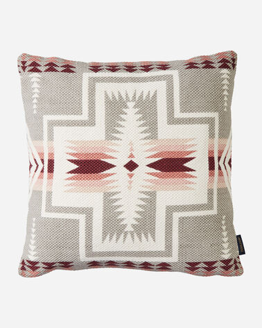 HARDING PRINTED KILIM SQUARE PILLOW IN TAUPE