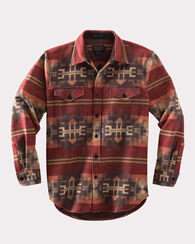 PINETOP SHIRT, RED BROKEN ARROW, large