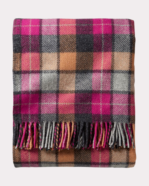 ECO-WISE WOOL THROW WITH CARRIER, , large