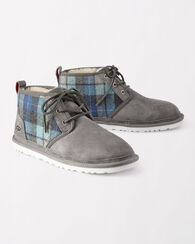 NEUMAL SURF PLAID BOOTS, BLUE SURF PLAID, large