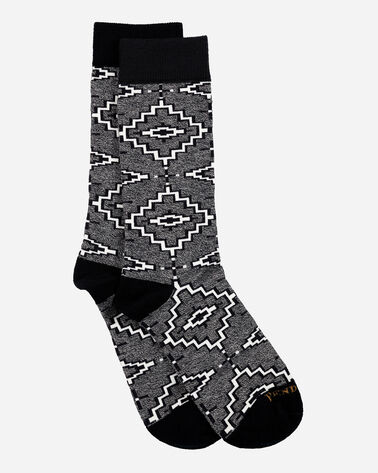 GEO CREW SOCKS IN GREY