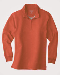 QUARTER-ZIP TECH PULLOVER, CHILI PEPPER RED, large