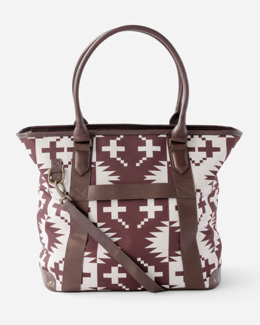 ADDITIONAL VIEW OF 20-INCH SPIDER ROCK TRAVEL TOTE IN BURGUNDY