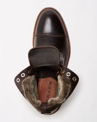 LOWELL SHEARLING-LINED BOOTS, , large