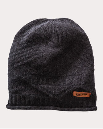 CASHMERE ROLL EDGE HAT