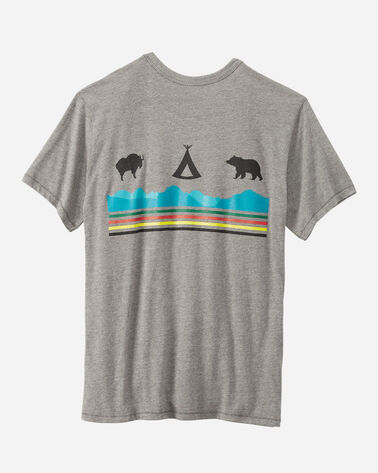 ADDITIONAL VIEW OF GLACIER NATIONAL PARK TEE IN GREY GLACIER