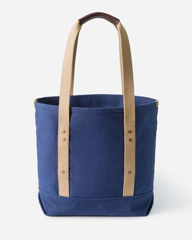ALTERNATE VIEW OF CANVAS TOTE IN NAVY