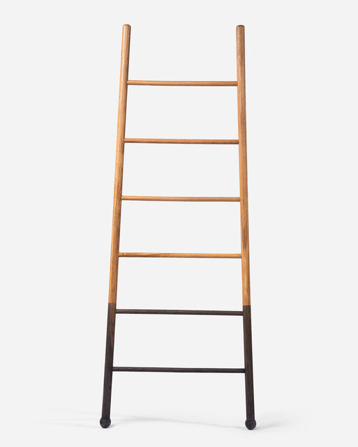 WIDE BLOAK LADDER IN NATURAL