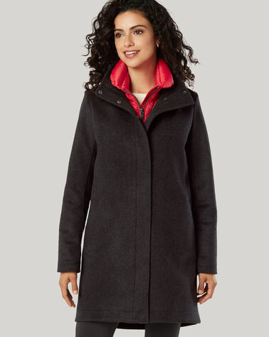 PENDLETON SIGNATURE CAMPBELL COAT, CHARCOAL, large