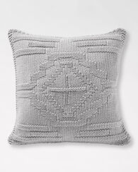 SANTA CLARA KNIT PILLOW, GREY, large