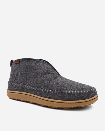 ALTERNATE VIEW OF MEN'S MOUNTAIN MID SLIPPERS IN GREY HEATHER