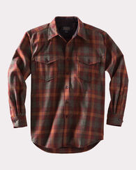 GUIDE SHIRT, RUST/GREEN MIX CHECK, large