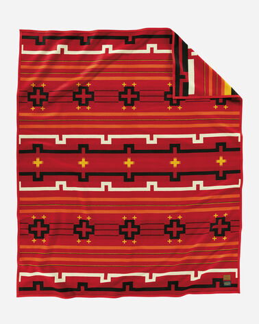 PRESERVATION SERIES: PS02 BLANKET, RED MULTI, large