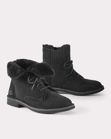 SUEDE QUINCY BOOTS, , large