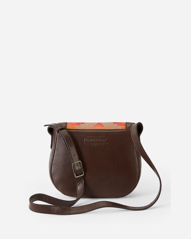 ALTERNATE VIEW OF SIERRA RIDGE SADDLE BAG IN BROWN