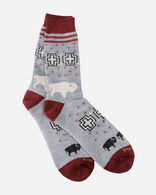 SAN MIGUEL CAMP SOCKS IN GREY