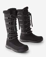 WOMEN'S ROCKCHUCK RANGE TALL BOOTS IN BLACK