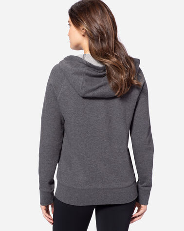 ADDITIONAL VIEW OF WOMEN'S PENDLETON LOGO HOODIE IN CHARCOAL HEATHER