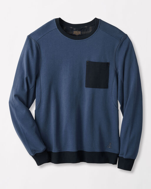 FRENCH TERRY CREW PULLOVER