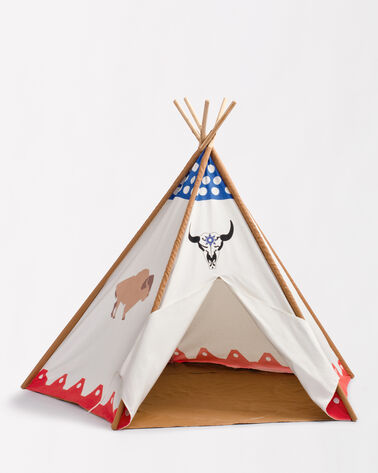 CANVAS TEPEE TENT IN BISON