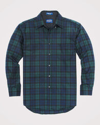BUTTON-DOWN FIRESIDE SHIRT, BLACK WATCH TARTAN, large