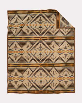 DIAMOND DESERT BLANKET, SANDSTONE, large
