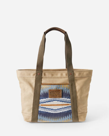 CRESCENT BAY TOTE IN INDIGO