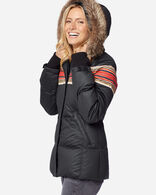 WOMEN'S SHORT APRES DOWN PUFFER IN ACADIA BLACK