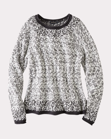 SOFT TEXTURED PULLOVER