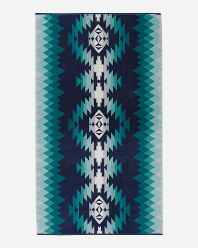 PAPAGO PARK SPA TOWEL IN TURQUOISE