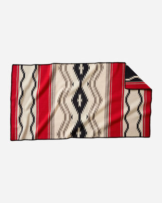 ALTERNATE VIEW OF SPECIAL EDITION WATER SADDLE BLANKET IN RED MULTI