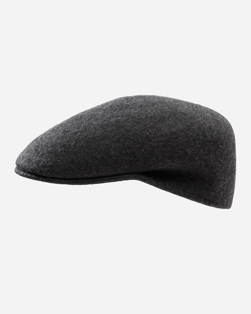 CUFFLEY HAT IN CHARCOAL MIX