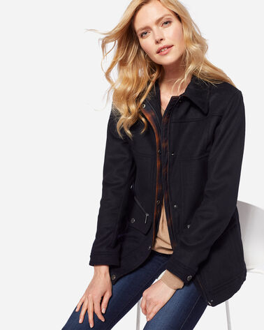 PENDLETON SIGNATURE MISSOULA FIELD COAT, NAVY, large