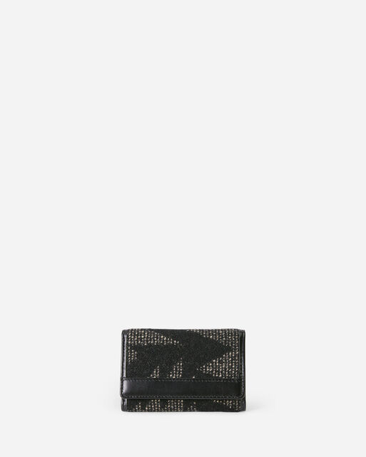 SONORA TRIFOLD WALLET IN BLACK