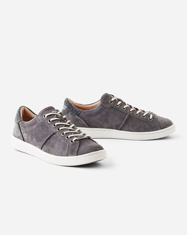MILO SUEDE SNEAKERS, CHARCOAL, large