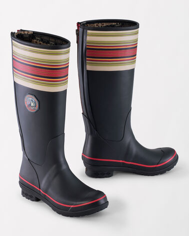 NATIONAL PARK TALL RAIN BOOTS, ACADIA BLACK, large