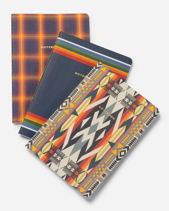 ADDITIONAL VIEW OF NOTEBOOK COLLECTION, SET OF 3 IN MULTI