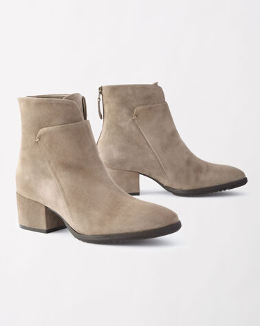 FOSS SUEDE BOOTIES, TAUPE, large