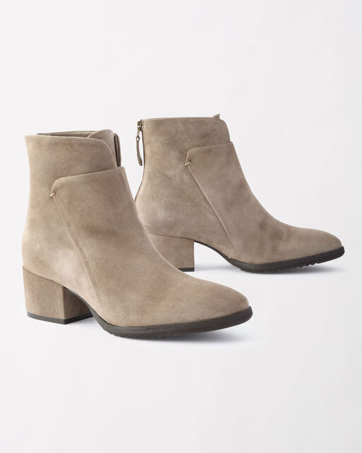 FOSS SUEDE BOOTIES, , large