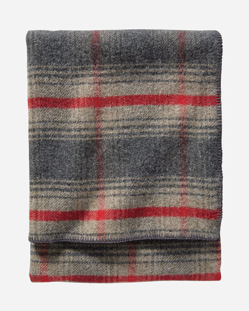 eco wise wool plaid stripe blanket pendleton. Black Bedroom Furniture Sets. Home Design Ideas