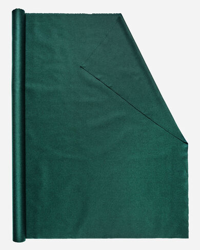 MELTON FABRIC IN DARK GREEN