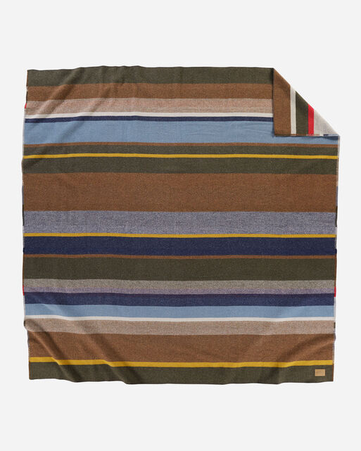 BRIDGER STRIPE BLANKET IN MULTI STRIPE