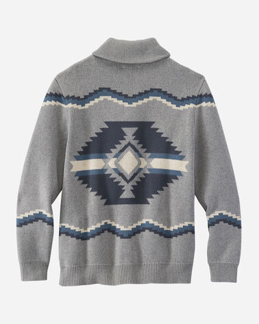 ALTERNATE VIEW OF MEN'S HIGHLAND CARDIGAN IN GREY