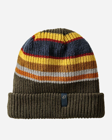REVERSIBLE NATIONAL PARK STRIPE BEANIE IN BADLANDS STRIPE
