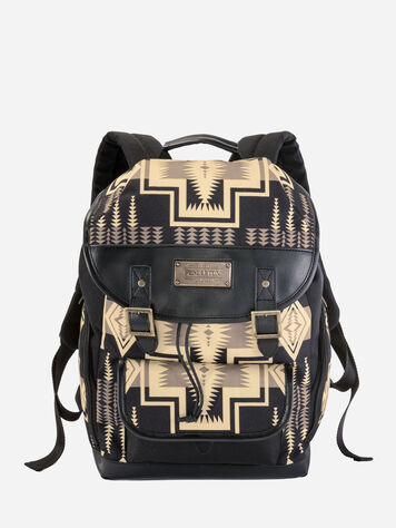 HARDING TRAVEL BACKPACK IN OXFORD HARDING