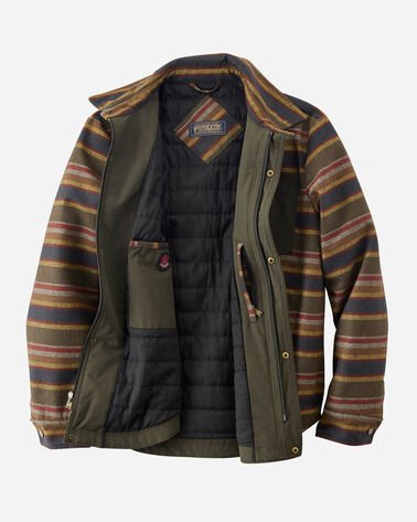 ALTERNATE VIEW OF MEN'S CONWAY ACCENT POCKET JACKET IN BADLANDS STRIPE