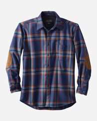 ELBOW-PATCH TRAIL SHIRT, CRATER LAKE PLAID, large